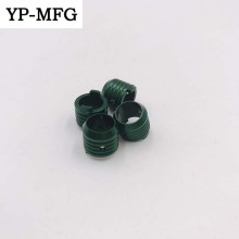 Factory CNC Lathe Machined Green Anodized Aluminum Parts.