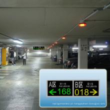 Display de tela LED para estacionamento interno