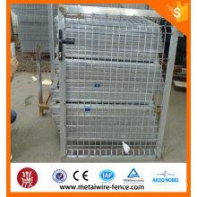 Fornecedor China galvanizado / pvc painel de vedação revestido e portão