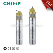 4SKM100/150/200 deep well vortex brass impeller 1.0hp/1.5hp/2.0hp submersible well water pump