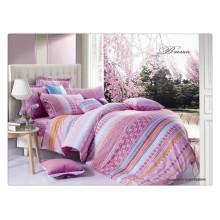 Beautiful luxury 40s 128*68 pigment printing 100% cotton duvet cover