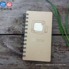 Kraft Paper Die-Cut Обложка с резьбой для спиральных ноутбуков