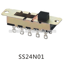 Daier slide switch 2p4t/10 position slide switch/2p4t slide switch