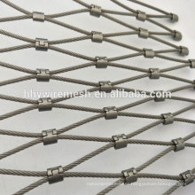 High quality rope mesh hand made woven cable mesh price for sale flexible zoo mesh netting