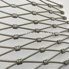 Malha de corda de alta qualidade feito à mão preço de malha de cabo tecida para venda flexível rede de malha de jardim zoológico
