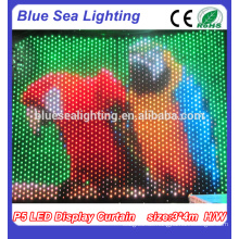 P9 RGB LED Display Vorhang Tuch \ LED Stage Backdrop Dekoration