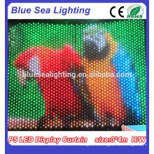 P9 Tissu de rideau d'affichage à LED RGB \ Décoration de décor de scène LED
