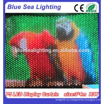 P9 RGB LED Pantalla Cortina \ Escenario LED Escenario Decoración