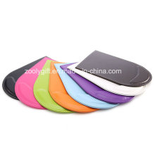 Assorted cor PU couro mouse pad com descanso de pulso / promocionais Gift Mouse Pad