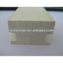 moldura de madeira para a mobília da janela da porta