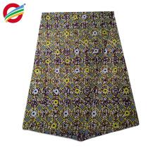 tejido de impresión de cera africana tejida 100% algodón hecho a medida