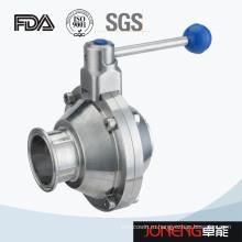 Нержавеющая сталь Баттерфляй тип высокого чистоты шаровой клапан (JN-BLV1011)