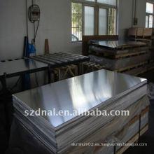 6063 t6 placa de aluminio / hoja para avión hecho en China