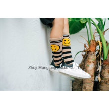 Smile Face Cute Girl Fashion Cotton Stocking Fashion Pattern Cotton Legging