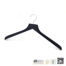 Schwarzen Lipu gemacht Top hölzernen Kleiderbügel Shirt