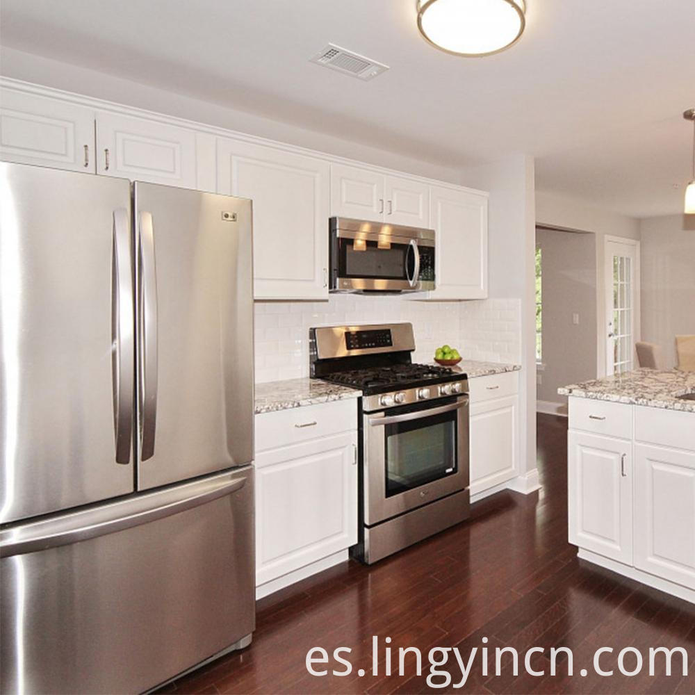 modern white gloss kitchen cabinet factory sale 2