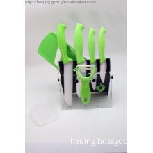 Ceramic knife set,8pcs knife set with ceramic peeler,ceramic slicer