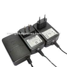 Switching AC DC adapter, 12V/2A/24W for CCTV camera, digital equipment, printer machine