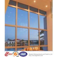 China Gold Qualität Aluminium festen Fenster