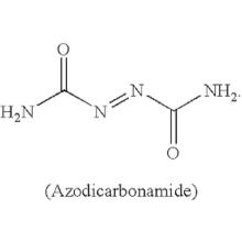 óxido de zinc azodicarbonamida