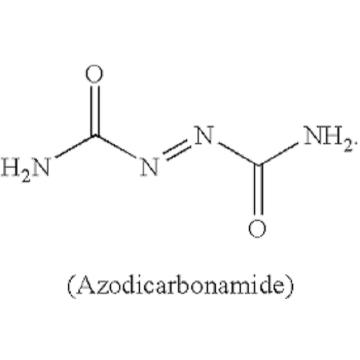 óxido de zinco azodicarbonamida