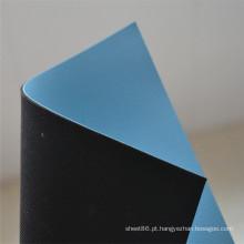 Esteira de borracha ESD antiestática de 2 camadas com Surfacee liso