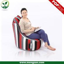 Chaise de sac de haricots adultes à l'impression personnalisée