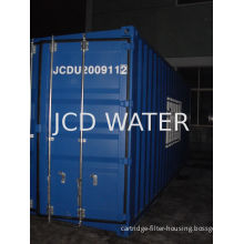 High Pressure Industrial Water Treatment Equipments With 50 Micron Bag Filter