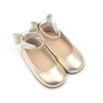 Lovely Bowknot Designer Kids Dress Shoes