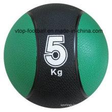 Green Color Rubber Material Standard Medicine Ball