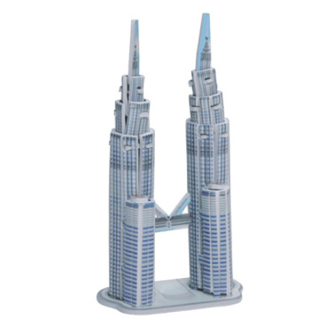Puzzle 3D Petronas Twin Towers