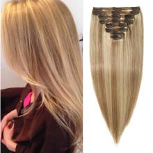 Clip in Hair Virgin Brazilian Human Hair Multi Set Clip Hair Extension