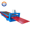 Color Coating Steel Cold Roofing Roll Forming Machine