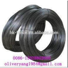 Tige recuite douce de fil de fer de 1-6mm noir pour le ballage et la reliure