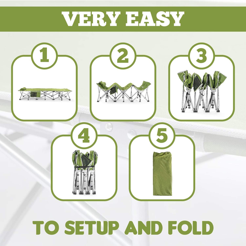 How to use Deluxe military Bed