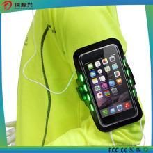 Estuche de brazalete deportivo para iPhone y Samsung