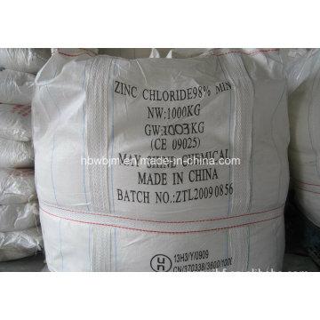 Cloreto de zinco Zncl2