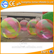 Inflatable floating water ball water roller/walk on water balls for sale