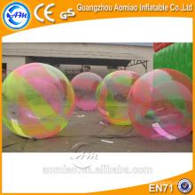 Inflável água flutuante rolo de água da bola / pé em bolas de água à venda