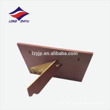 Honrando la decoración rectángulo forma placa de premio de madera