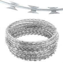 Galvanized Razor Barbed Wire/bto-22 Razor Barbed Wire
