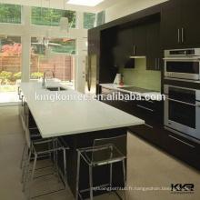Comptoir de cuisine en quartz artificiel préfabriqué