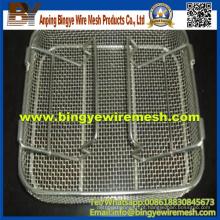 Deep Processing Desinfecting Basket Industrial Plastic Box Washing