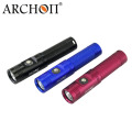 Archon Waterproof LED Flashlight 860lm with 18650 Rechargeable Battery