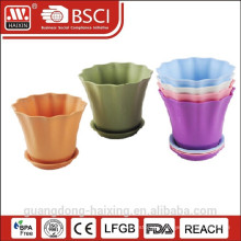 2015 New & Hot Selling Flower Pot with bottom base/ Medium Size of Flower Pot