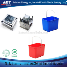 injection plastic square bucket moulding