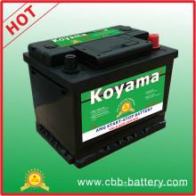 Excellent 12V scellé AGM Start Stop Auto voiture batterie DIN55ah