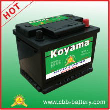 Excellent 12V Sealed AGM Start Stop Auto Car Battery DIN55ah