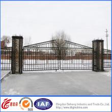 Puerta de entrada de alta calidad decorativa simple