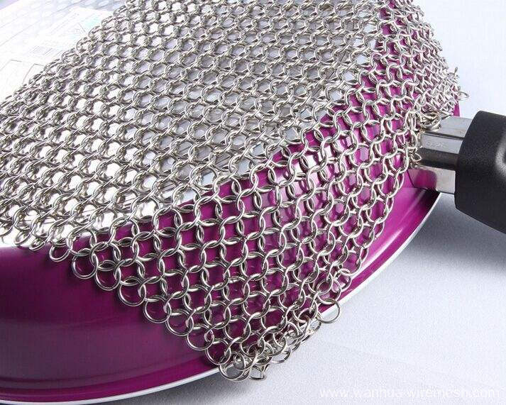 Stainless steel ring chain link mesh